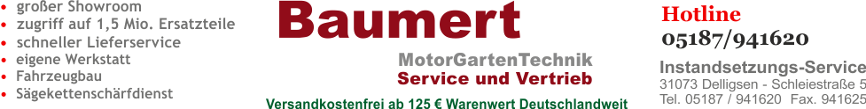 Motorgartenger�te Ersatzteile Online Shop
